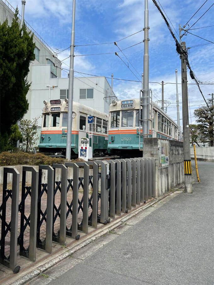 旧市電車両